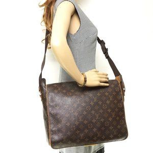 Auth Louis Vuitton Abbesses Crossbody #6253L29
